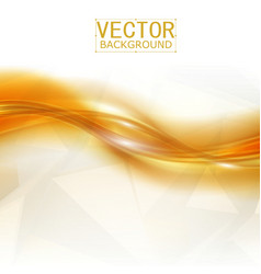 Beautiful Gold Satin vector image