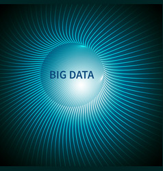 big data abstract background vector image