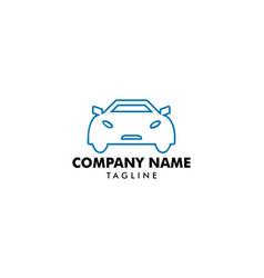 car logo template vector image