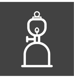 Gas lamp vector