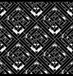 geometric striped ornamental seamless pattern vector image