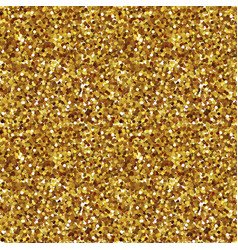 golden sparkles seamless pattern vector image