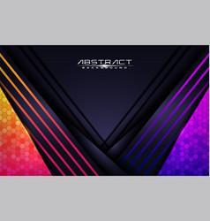 modern colorful futuristic background design vector image