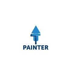 Painter logo vector