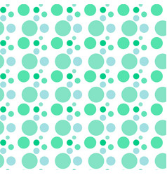 Seamless pattern background in polka dot vector