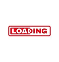 The loading icon preloader symbol Flat vector image