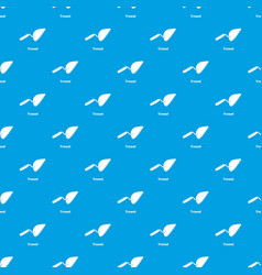 trowel pattern seamless blue vector image