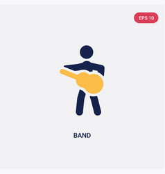 Two color band icon from ultimate glyphicons vector