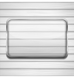 Transaprent Glass Frame vector image vector image