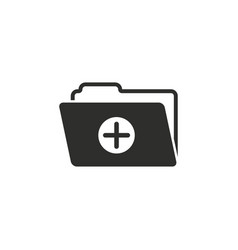 add file icon vector image vector image