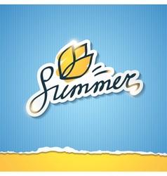 summer eps 10 vector image