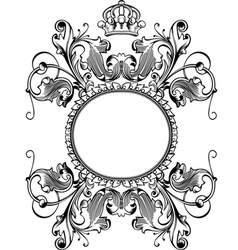 Royal crown banner vector
