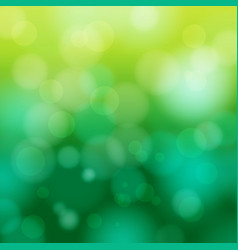 Abstract green spring blur background vector