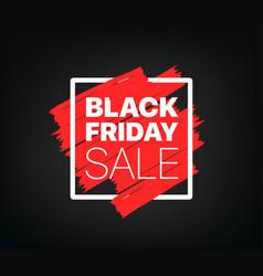 Black friday offer banner vector