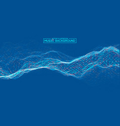 Blue background design colourful music background vector