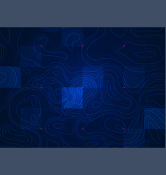 Blue terrain vector