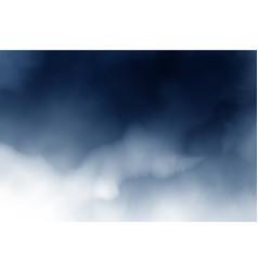 dark blue watercolor splash background vector image