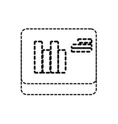 data stadistic vector image