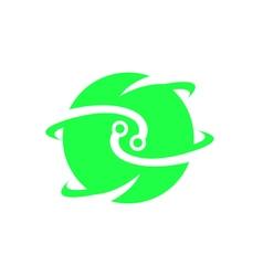 Electronic Logo Icon vector
