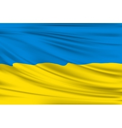 Flag of Ukraine vector image