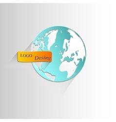 Icon-globe vector