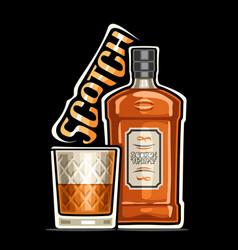 logo for scotch vector image