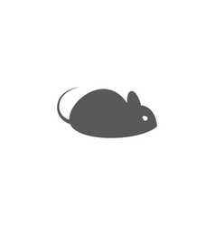 mouse icon on white background vector image