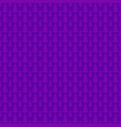 purple seamless simple geometrical xmas tree vector image