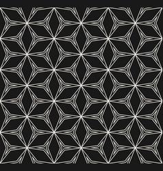 repeat geometric texture black white linear vector image