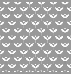 seamless scandinavian pattern with simple stylized vector image