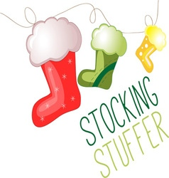 Stocking stuffer vector