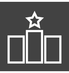 Rankings vector image