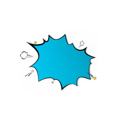 pop art splash background explosion in comics vector image vector image