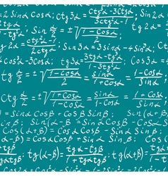 Math background vector image