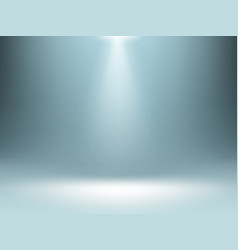 Grey gradient background spotlights illumination vector