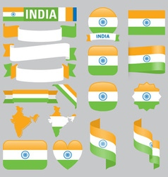 India flags vector