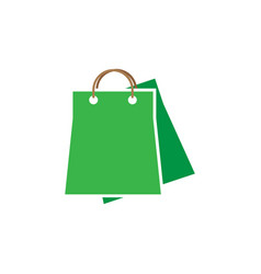 shopping bag graphic design template isolated vector image