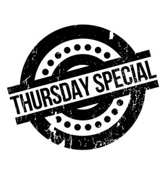 Thursday special rubber stamp vector