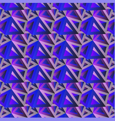 trendy horizontal geometric background triangle vector image