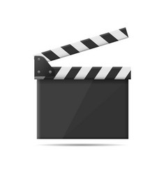 film clapper board vector image