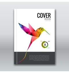 Business design background Cover brochure book vector image vector image
