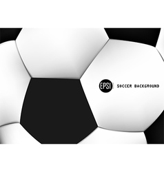 Abstract Background of soccer ball pattern design vector image
