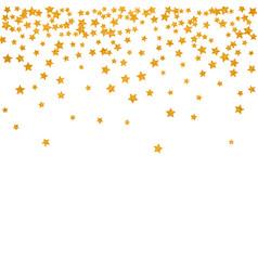 Abstract pattern of random falling stars vector