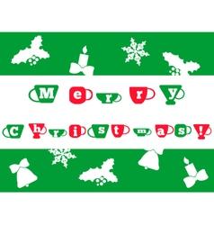 christcard vector image