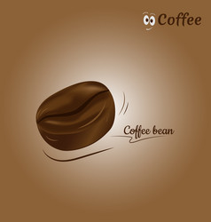 coffee bean icon design vector image