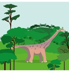 dinosaur concept design vector image