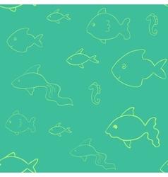 Laconic fish seamless vector image
