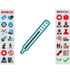 Medical Thermometer Icon vector image