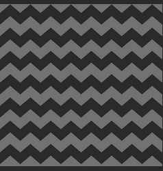 Zig zag chevron black and grey tile pattern vector