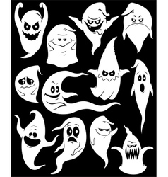 Ghosts vector image